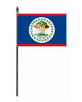 Belize Country Hand Flag - Small.